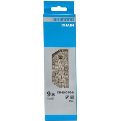 Shimano CN-E6070-9 Chain 9-Speed 138 Links E-Bike Specific