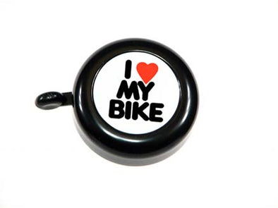 "BLACK BELL, ""I LOVE MY BIKE"""