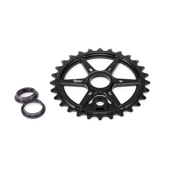 WTP Patrol 28T Sprocket Black