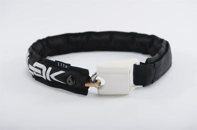 Hiplok Lite Black/White 6mm Chain Wearable