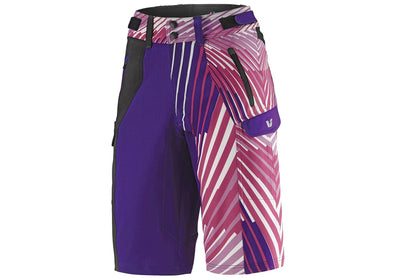 Liv Tangle Baggy Shorts Purple/Fuchsia