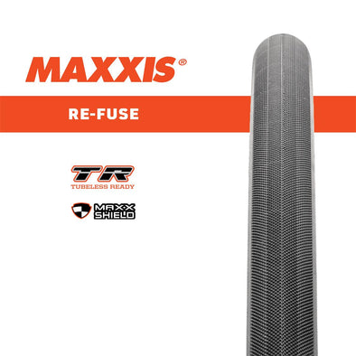 Maxxis 700C Refuse Black Maxxshield Kevlar Belt Foldable