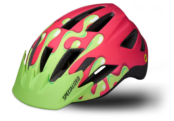 Specialized Shuffle LED SB Helmet Mips Pink Slime Youth