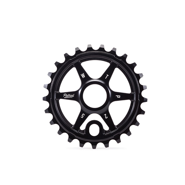 WTP Patrol 25T Sprocket Black