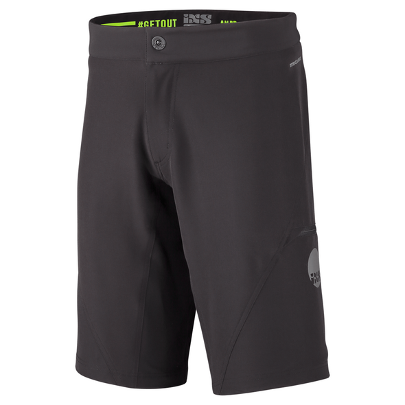 iXS Carve Evo Shorts Black
