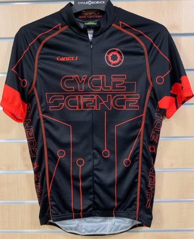 CS Jersey SS S Red Electric Design