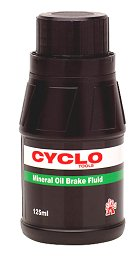 Weldtite Mineral Oil Brake Fluid - 125ml