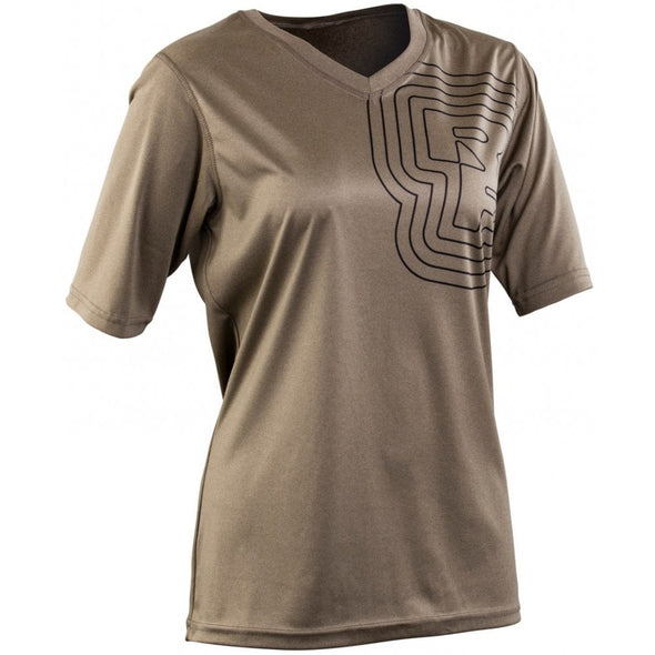 RaceFace Charlie Womens tech Top Olive
