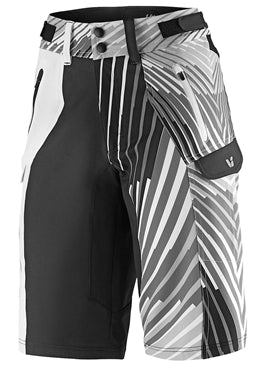 Liv Tangle Baggy Shorts Black/White