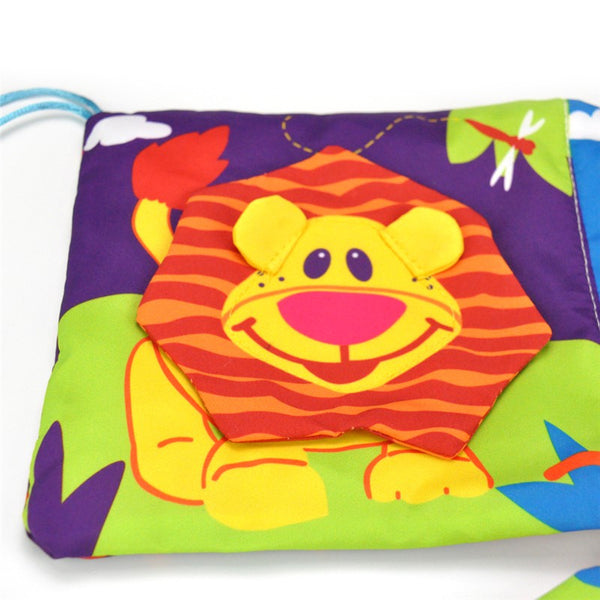Baby Crib Colorful Book