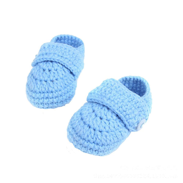 Crib Crochet Handmade Shoes