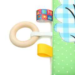 Colorful Rattle Teething Toy