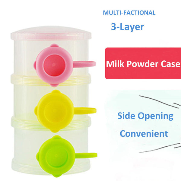 Stackable Milk Powder Formula Dispenser