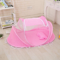 Foldable Baby Bed Net With Pillow