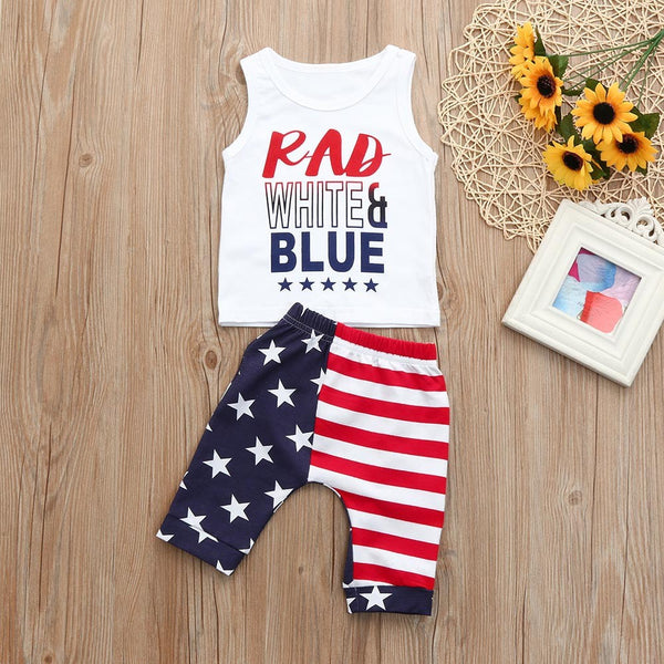 4th Of July Outfits Set