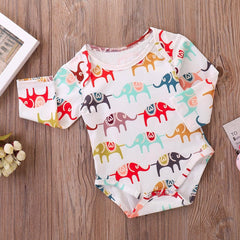 Cartoon Elephant Jumpsuit