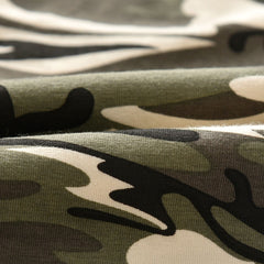 Tops+Camouflage Pants Outfits Set