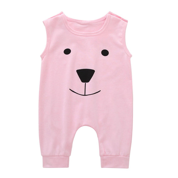 Cartoon Bear Jumpsuit