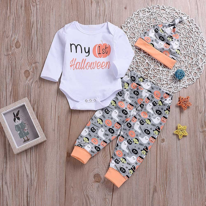 Halloween Baby Outfit Set