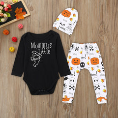 Pumpkin Print Clothes Set