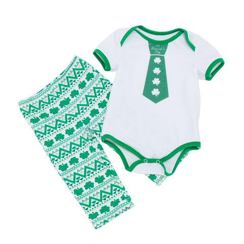 St. Patrick Baby Boy Outfit