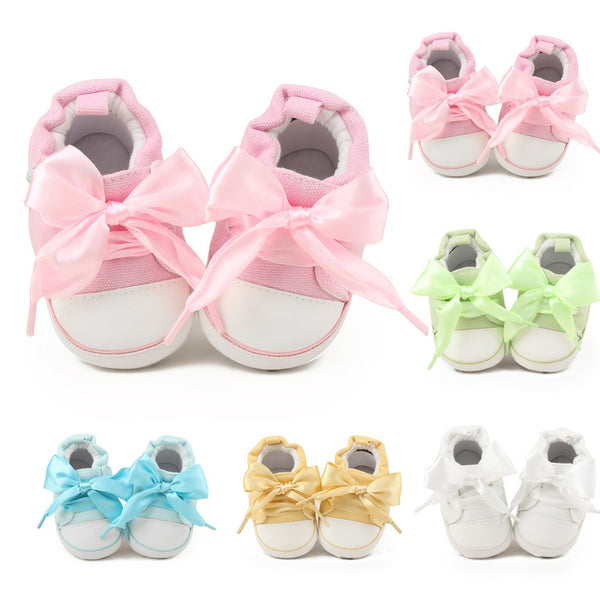 Newborn Canvas Sneakers
