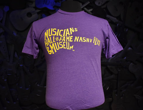 Musicians Hall of Fame Guitar Logo T-Shirt
