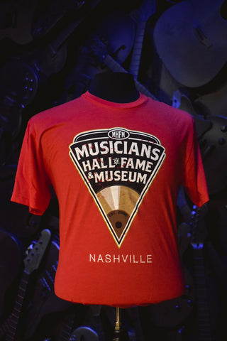 Musicians Hall of Fame Short Sleeve T-Shirt- Pick Logo