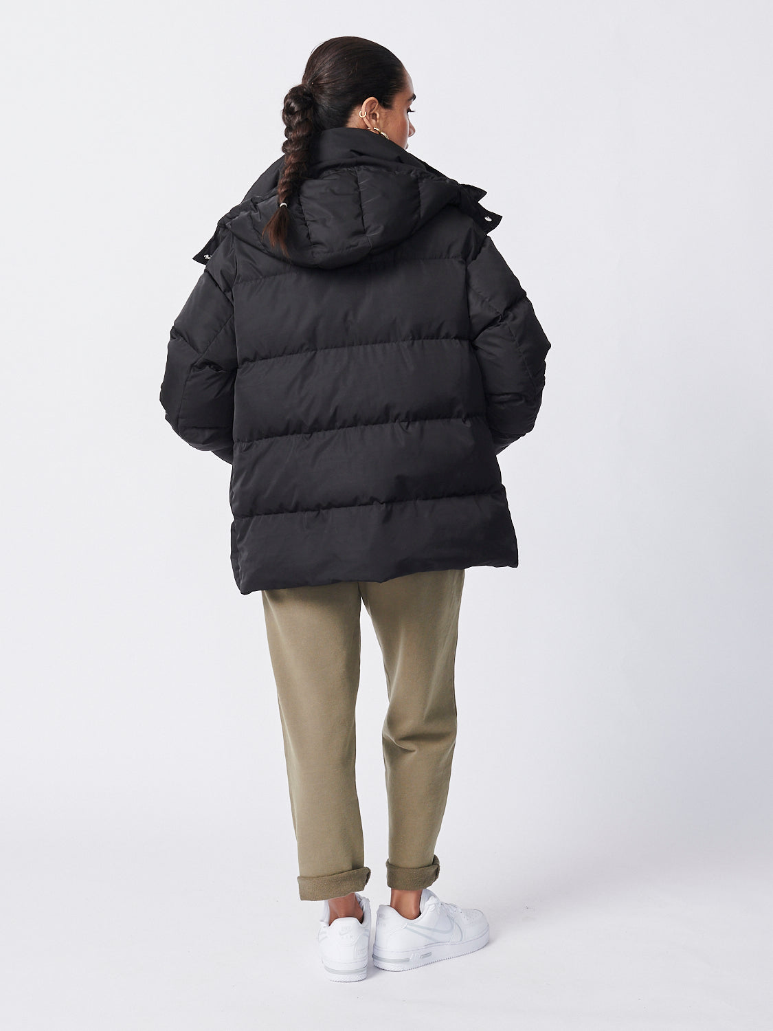 Utility Puffer Jacket - Recycled Fabric