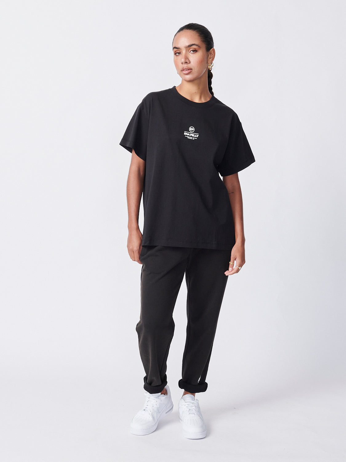 Core Logo Tee - Washed Black
