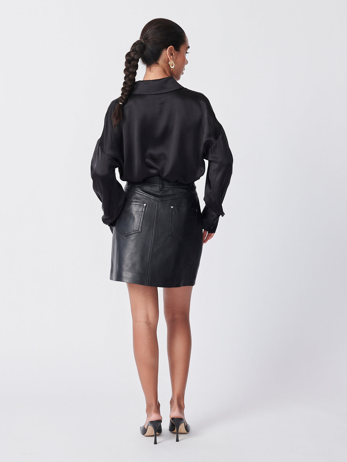 Imogen Mini Skirt - Black