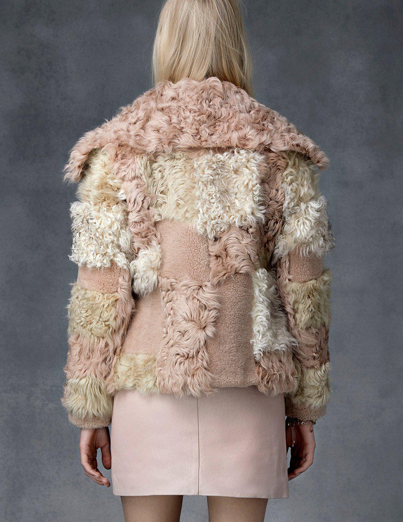 Multi Shearling Jacket