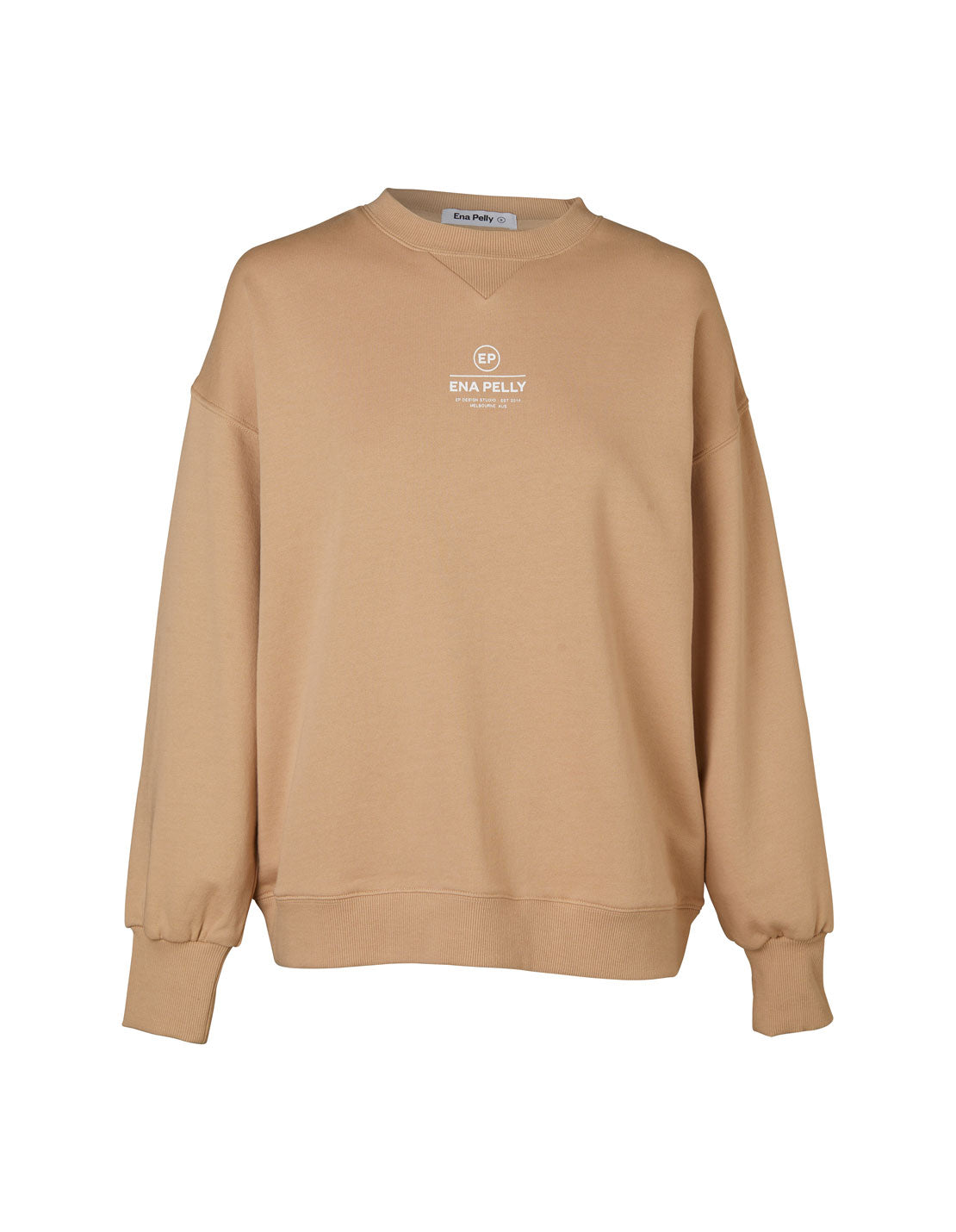 Core Logo Sweatshirt - Latte