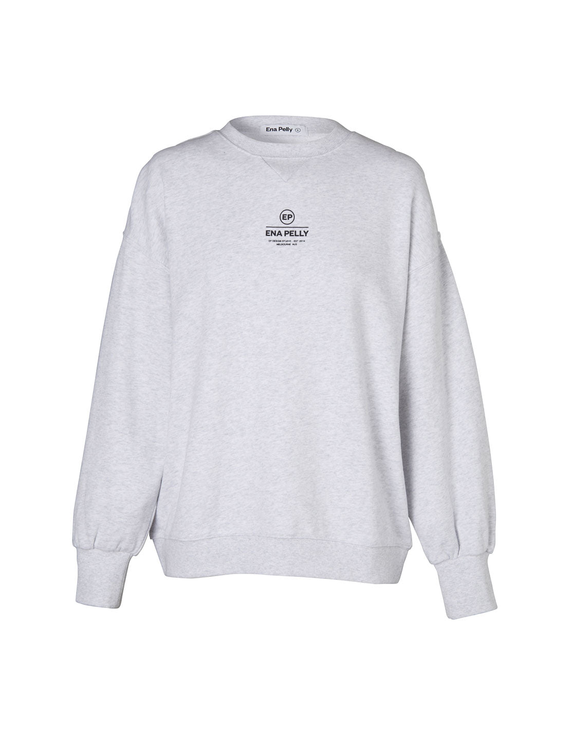 Core Logo Sweatshirt - White Marle