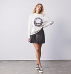 Tropical Resort Sweatshirt - White