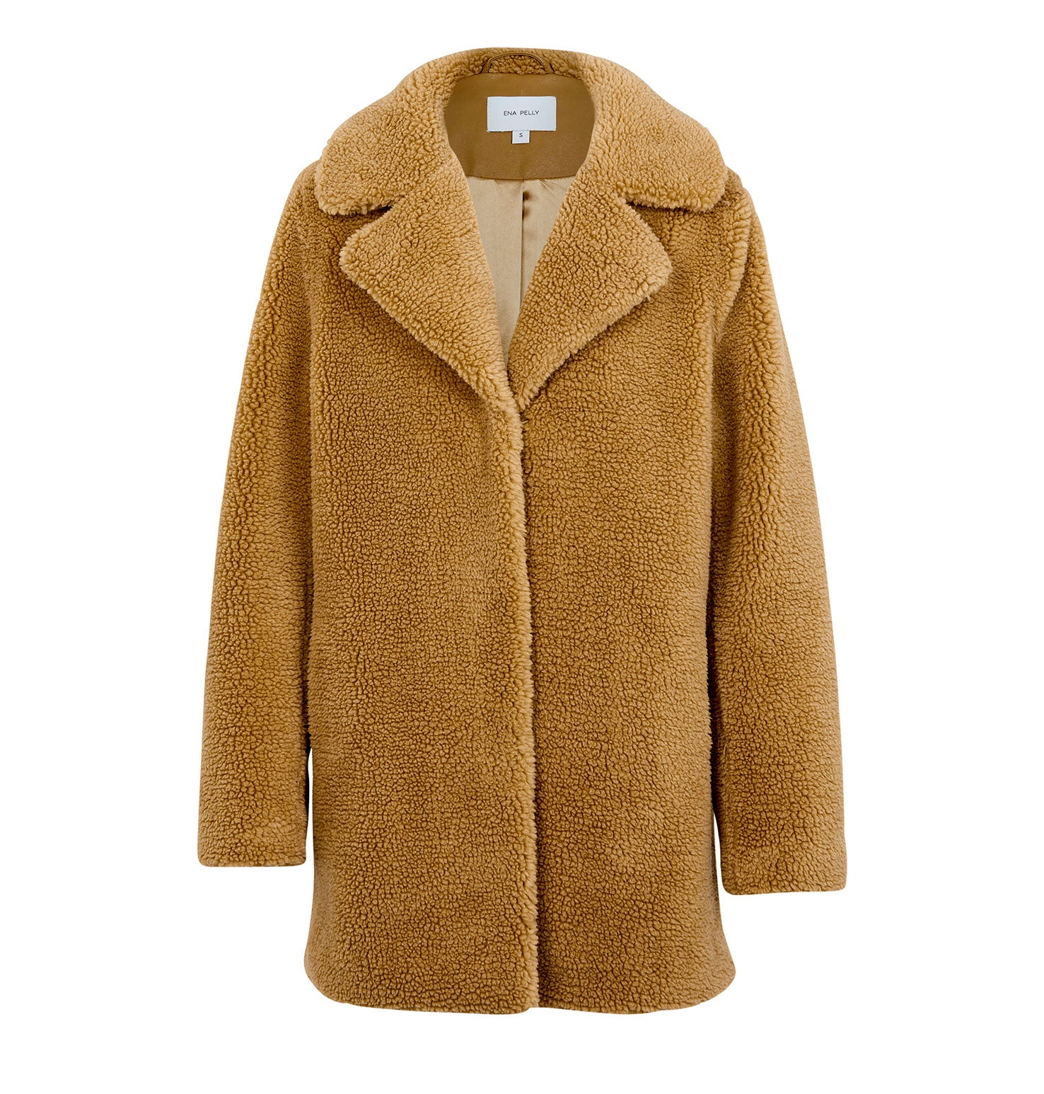 Minimalist Faux Fur Jacket - Teddy