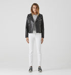 Minimalist Biker Jacket - Vegetable Tanned