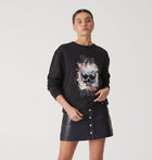 Flower Skull Sweatshirt