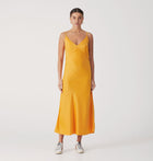 Roza Slip Dress - Saffron
