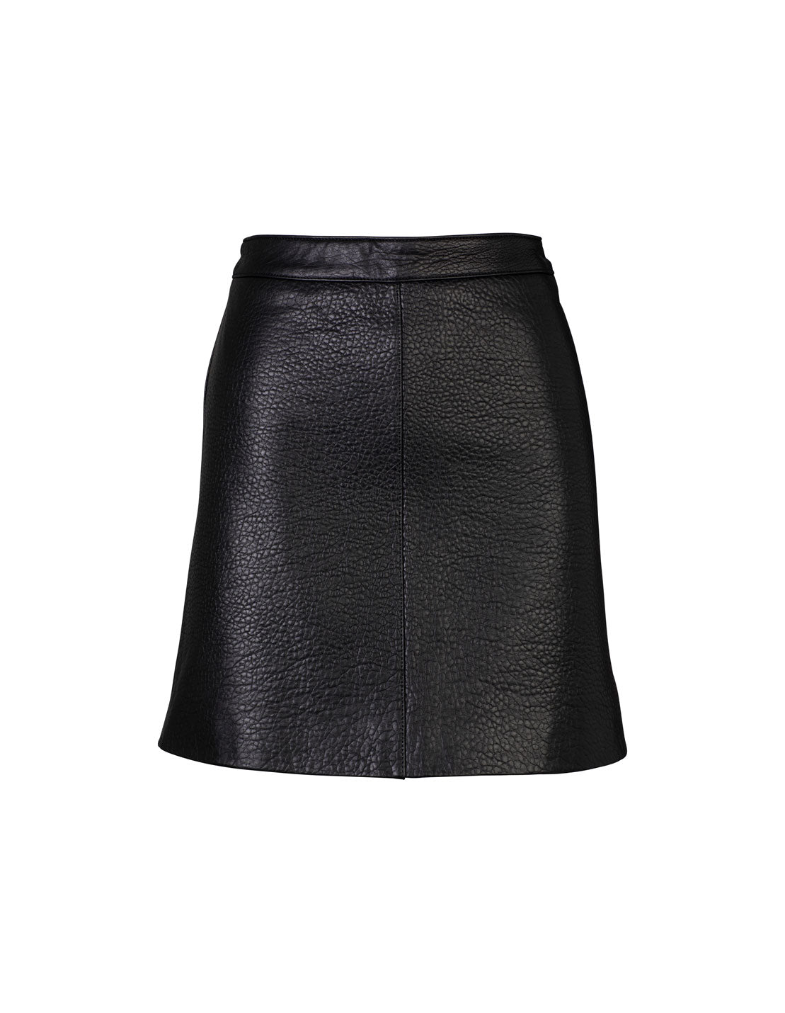 Classic Mini Skirt - Black/Pebbled