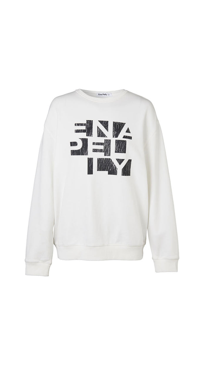 Rubik Sweatshirt - White