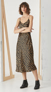 Slip Dress - Croc Cinnamon