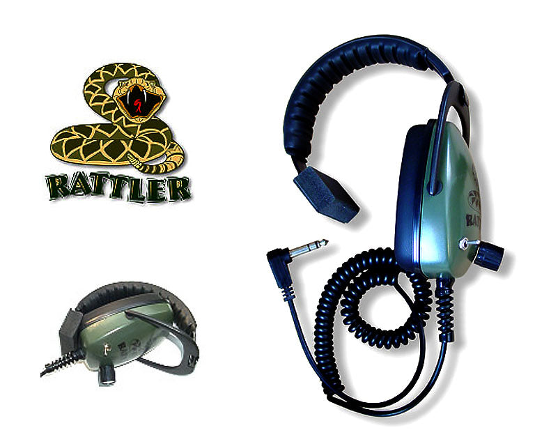 GRAY GHOST RATTLER HEADPHONES