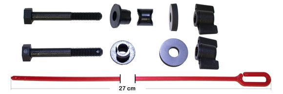 Nut, Bolt, Washer & Spacer for HF Coils