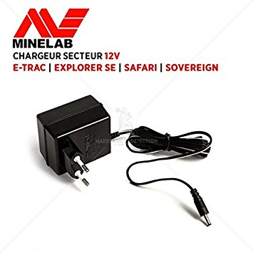 Minelab FBS Battery Charger - UK plug