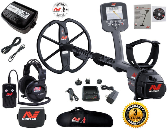 MINELAB CTX3030 METAL DETECTOR SUPER VALUE PACK