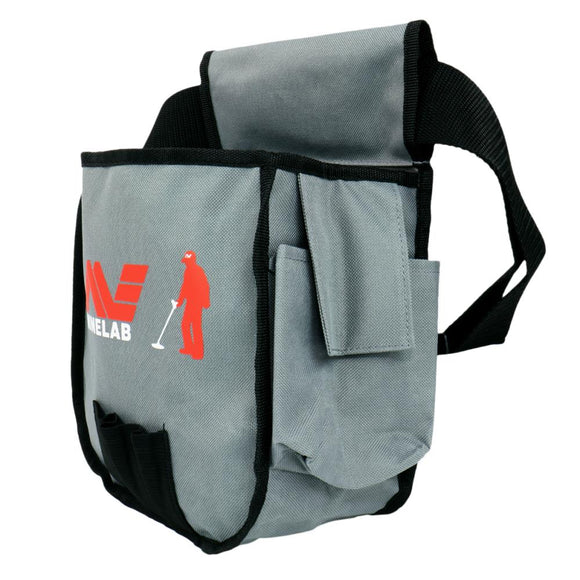 Minelab lightweight multi pocket finds pouch