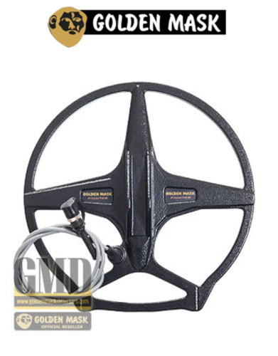 Golden Mask 12 inch | 30 cm - Double D Fighter Search coil