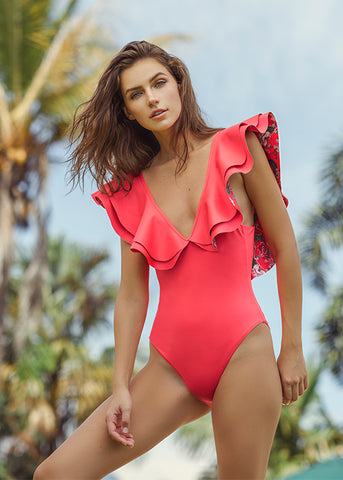 Alex Red One Piece
