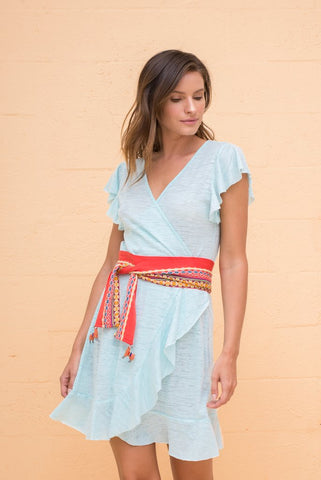 Wrap Llama Dress